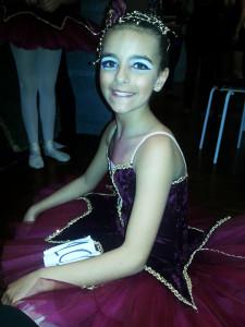 Back stage - gruppo danza Spagnola - Elena Modafferi